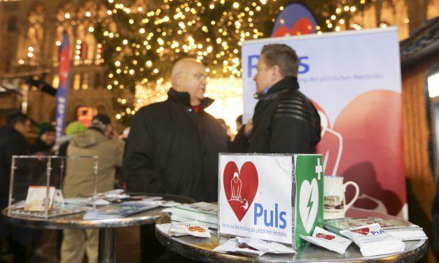 Herz-Charity am Wiener Christkindlmarkt 2016
