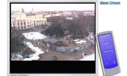 Die Webcam überm Rathausplatz