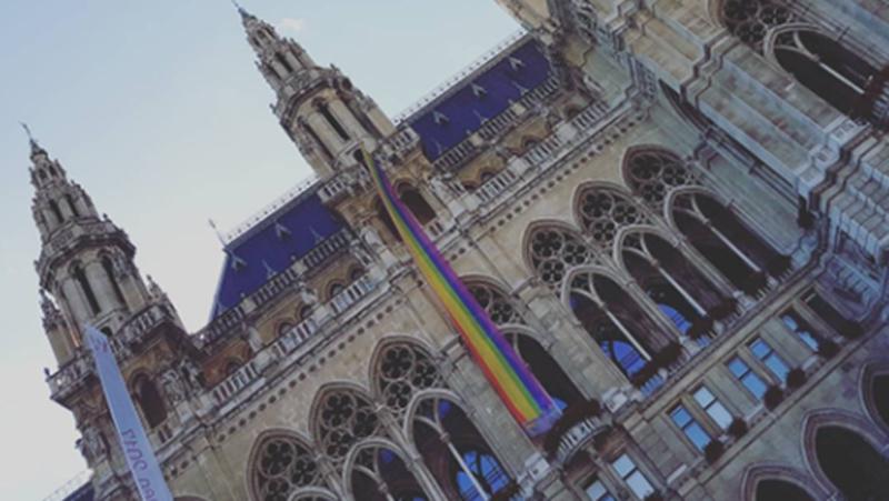 Vienna Pride am Wiener Rathausplatz © tanja_huber on instagram