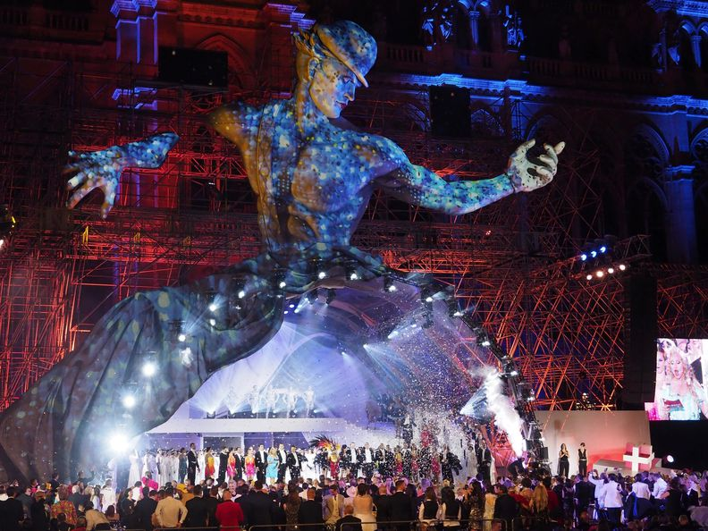 Life Ball 2017 am Wiener Rathausplatz Copyright: APA